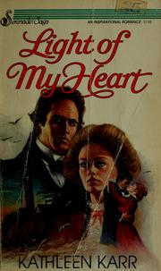 Cover of: Light of my heart