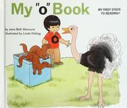 "Cover of: My ""o"" book"
