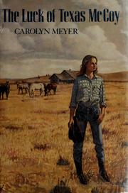 Cover of: The luck of Texas McCoy