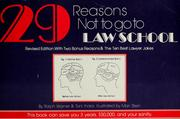 Cover of: 29 reasons not to go to law school | Ralph E. Warner