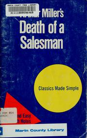 Cover of: Arthur Miller's Death of a salesman