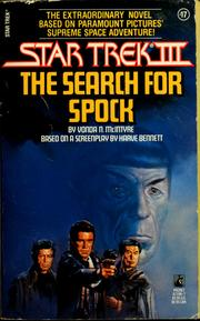 Cover of: Star trek III, the search for Spock