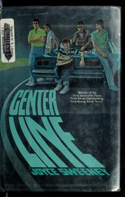Cover of: Center line | Joyce Sweeney