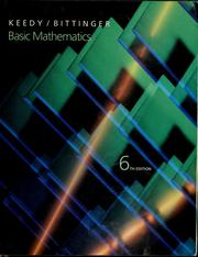 Cover of: Basic mathematics | Mervin Laverne Keedy