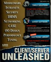 Cover of: Client/server unleashed | Jenkins, Neil