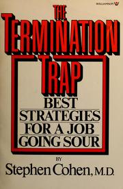 Cover of: The termination trap | Cohen, Stephen