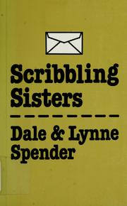 Cover of: Scribbling sisters