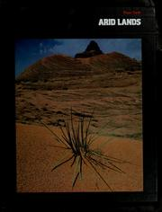 Cover of: Arid lands