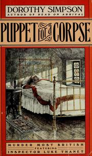 Cover of: Puppet for a corpse