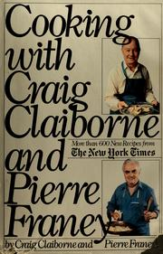 Cover of: Cooking with Craig Claiborne and Pierre Franey