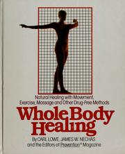 Cover of: Whole body healing