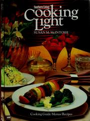 Cover of: Cooking light | Susan M. McIntosh