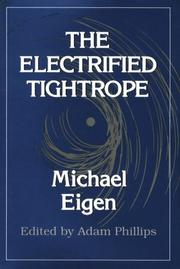 Cover of: The electrified tightrope