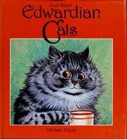 Cover of: Louis Wain's Edwardian cats
