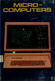 Cover of: Microcomputers