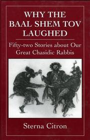 Cover of: Why the Baal Shem Tov Laughed | Sterna Citron