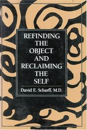 Cover of: Refinding the object and reclaiming the self