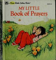 Cover of: My little book of prayers