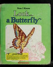 Cover of: Look--a butterfly | David Cutts