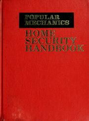 Cover of: Popular mechanics home security handbook