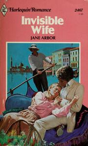 Cover of: Invisible wife | Jane Arbor