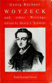 Cover of: Woyzeck and other writings