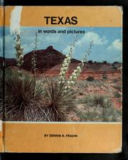 Cover of: Texas in words and pictures