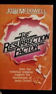Cover of: The resurrection factor