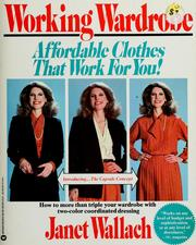 Cover of: Working wardrobe