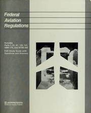 Cover of: Federal aviation regulations | Jeppesen Sanderson, inc, inc Jeppesen Sanderson