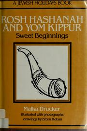 Cover of: Rosh Hashanah and Yom Kippur | Malka Drucker