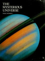 Cover of: The Mysterious Universe