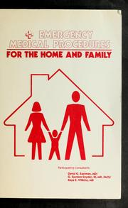 Cover of: Emergency Medical Procedures for the Home and Family
