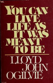 Cover of: Life as it was meant to be