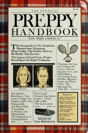 Cover of: The official preppy handbook