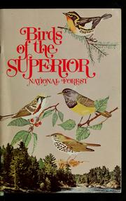 Cover of: Birds of the Superior National Forest
