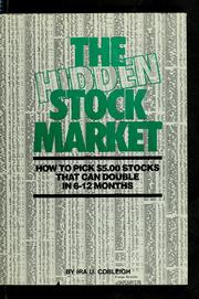 Cover of: The hidden stock market