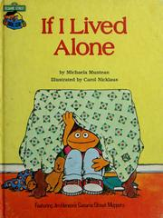 Cover of: If I lived alone