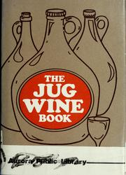 Cover of: The jug wine book