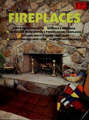 Cover of: Fireplaces | Robert Jones