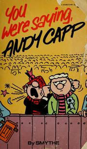 Cover of: You Were Saying, Andy Capp