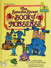 Cover of: The Sesame Street book of nonsense by David Korr