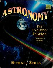 Cover of: Astronomy | Michael Zeilik