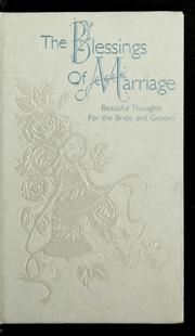 Cover of: The blessings of marriage | Tina Hacker