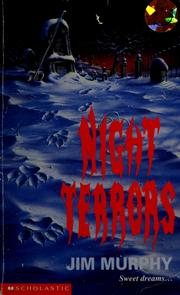 Cover of: Night terrors | Murphy, Jim