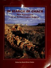 Cover of: In search of Chaco