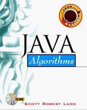 Cover of: Java algorithms