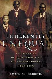 Cover of: Inherently unequal