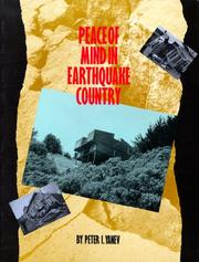Cover of: Peace of mind in earthquake country | Peter I. Yanev