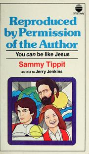 Cover of: Reproduced by permission of the author | Sammy Tippit